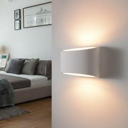 Modern 7W Plaster G9 LED Up and Down Wall Sconce Lighting Fi