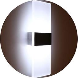 Topmo Modern Acrylic 12w LED Wall Sconces Aluminum Lights De