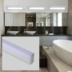 Modern Bathroom Vanity Light Waterproof LED Mirror Front Lig