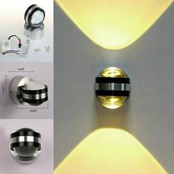 Modern LED Crystal Wall Mount Light Fixture Sconce Lamp Ligh