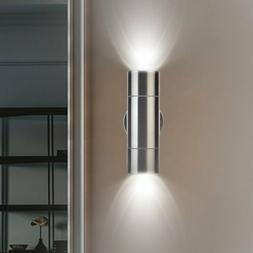 modern led up down wall light waterproof
