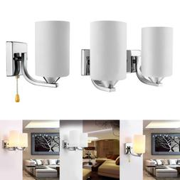 Modern LED Wall Light Glass Sconce Lighting Lamp Fixture Bed