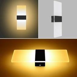 Modern LED Wall Light Up Down Indoor Outdoor Home Fixture Sc