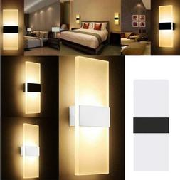 modern led wall light waterproof exterior up
