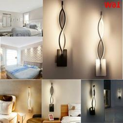 16W LED Modern Indoor Wall Lights Aisle Bedside Wall Lamps S
