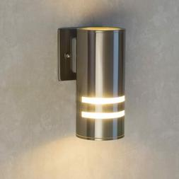 Modern Outdoor Lighting Wall Sconce Stainless Steel 304 Brus