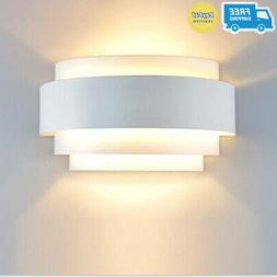 Lightess Modern Sconce 5W LED Up Down Wall Lamp for Bedroom