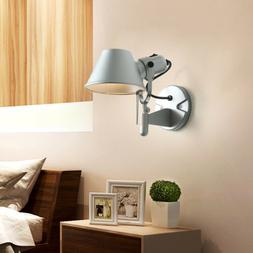 Modern Silver Wall Lamps Led Wall Sconce Light Fixtures for
