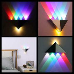 Lemonbest Modern Triangle 5W LED Wall Sconce Light Fixture I