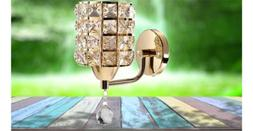 modern wall lamp crystal sconce decoration light