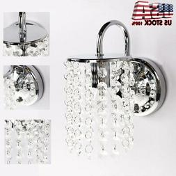 Modern Wall Light LED Crystal Sconce Fixture Ceiling Lamp Ch