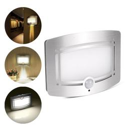 Motion Sensor Activated LED Wall Sconce Battery Operated Wir