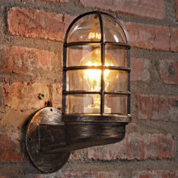 Nautical Style Vintage Industrial Wall Sconce Lamp Light Lof