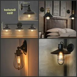 Bathroom Vanity Light Wall Fixture Rustic Farmhouse Decor Oi