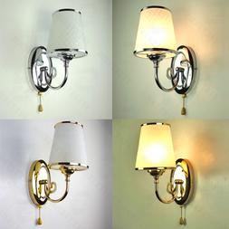 Nordic Style chrome Silver/Gold LED Wall Light Lamp Sconce F