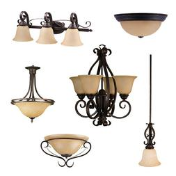 Oil Rubbed Bronze Ceiling Lights, Bathroom Vanity,& Chandeli