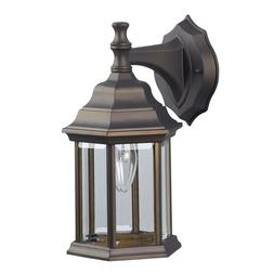 Oil Rubbed Bronze Outdoor Exterior Wall Lantern Light Fixtur