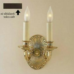 Oil Rubbed Bronze Sconce Candle Light Wall Lamp Candelabra 2