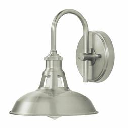 olivera bathroom vanity light brushed nickel industrial