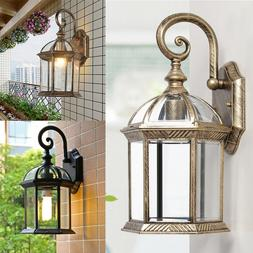Outdoor Exterior Lantern Sconce Porch Lights Antique Wall Li