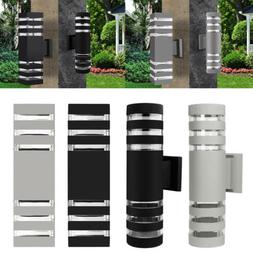 Outdoor LED Exterior Wall Light Sconce Waterproof UP Down Du