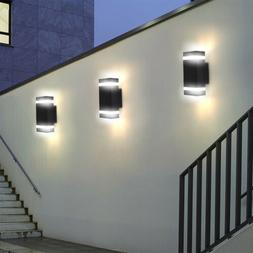 Outdoor LED Wall Lamp Room Up and Down Light Fixture Wall Sc