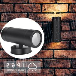 Outdoor LED Wall Light Fixtures Up Down Stainless Steel Scon