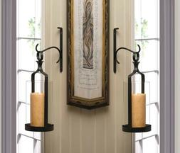 Pendant Hurricane Sconce Candle Holder Wall Decor