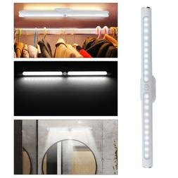PIR Sensor Activated LED Wall Sconce Light Battery Operated