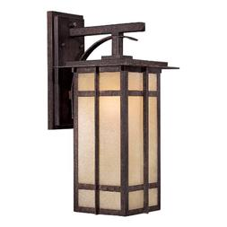 Minka Lavery 71192-357-PL, Delancy, 1 Light Wall Mount, Iron