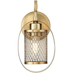Light Visions PL0021NB Transitional Wall Sconce Natural Bras