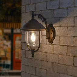 Retro Rustic Exterior Wall Light Fixture Outdoor Patio Lante