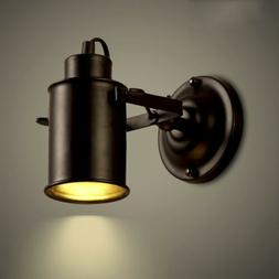 Retro Vintage Industrial Wall Sconce Adjustable Lamp Spot Li