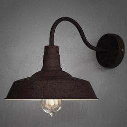 Rustic Industrial Retro Style Barn Wall Lamp Sconce Outdoors