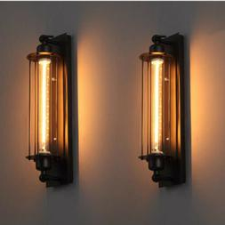 rustic retro wall sconce lamp steampunk edison