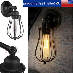Rustic Vintage Industrial Style Wall Mount Light Sconce Lamp