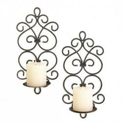 Sconce Candle, Black Metal Wall Sconce, Decorative Bedroom S