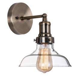 Glass Wall Sconce Industrial Vintage Wall Lamp Led Porch Lig