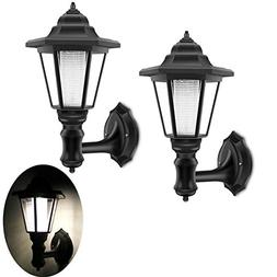 solar lamp wall sconce
