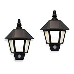 Solar Sconce Security Wall Lights Lamp Motion Activated Secu