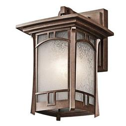 Soria 1 Light Outdoor Wall Lantern - Size: 11.75 H x 7.5 W