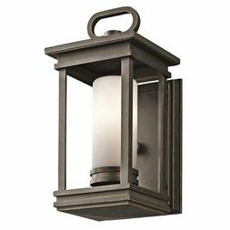 South Hope Outdoor Wall Lantern - Size: 11.75 H x 5.5 W