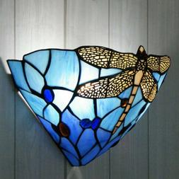 Stained Glass Chloe Lighting Victorian 2-lights Wall Sconce