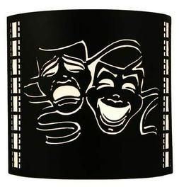 Theatre Mask Wall Sconce