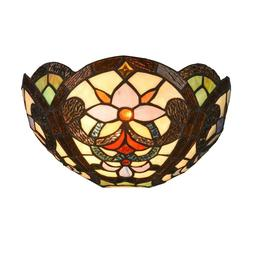 tiffany wall lamp stained glass wall sconce