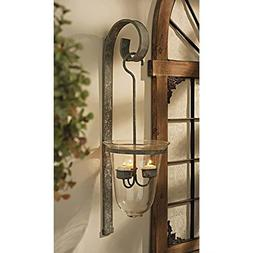 Design Toscano Tuscan Hanging Candeliere Glass Pendant Sconc