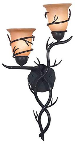 Twigs Wall Sconce in Bronze