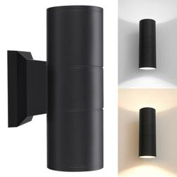 1/4x Up Down Dual Head Wall Light Sconce LED Lighting Fixtur