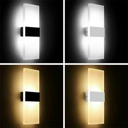 Modern LED 5W Wall Light Indoor Outdoor Sconce Lighting Lamp