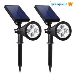 LumiParty Upgraded Solar Light Landscape Lighting LED <font>